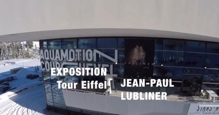 Exposition 130 ans de la Tour Eiffel à Courchevel