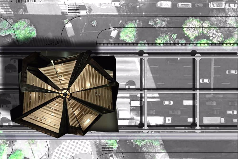 Vaisseau agora 1 Lubliner Art Architecture