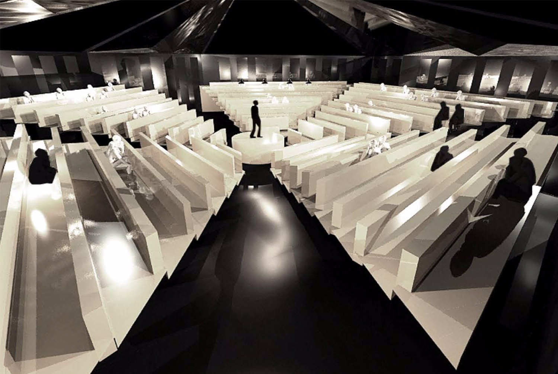 Vaisseau agora Lubliner Art Architecture