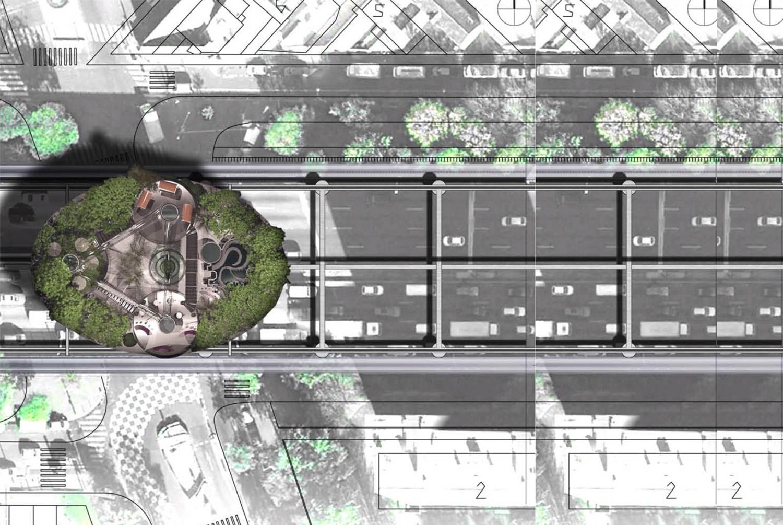 Vaisseau jardin mobile 1 Lubliner Art Architecture