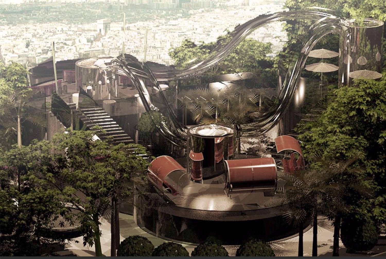 Concepts JPL - Vaisseau jardin mobile Lubliner Art Architecture