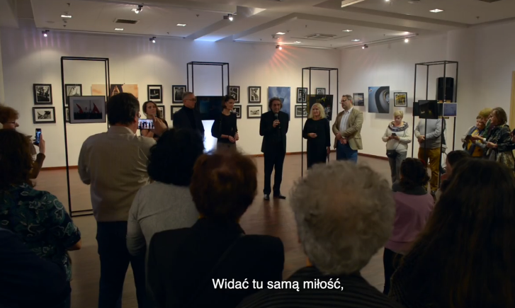 Exposition 130 ans de la Tour Eiffel à Gdynia en Pologne