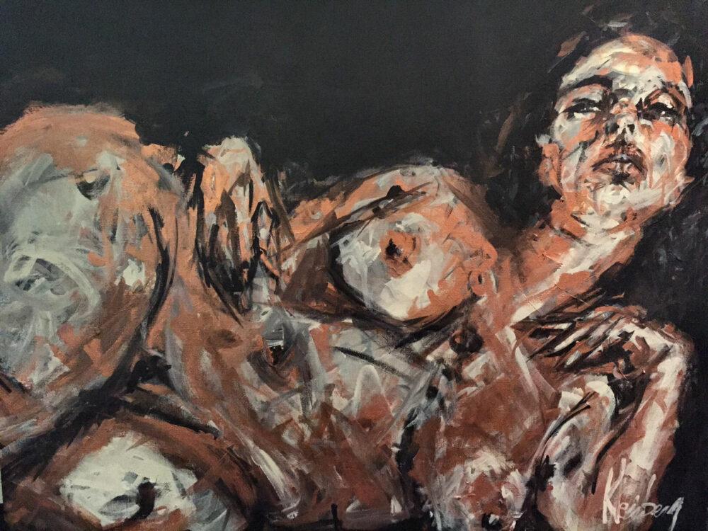 MOUNIA (2011) 81x100